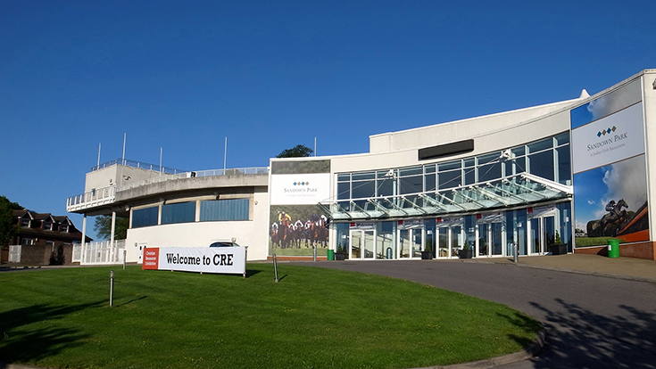 Photo of Sandown Park entrance