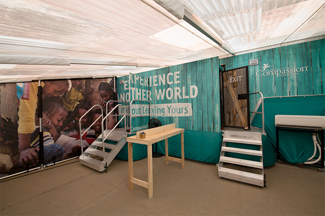 Photo of the Compassion Experience, coming to CRE 2017