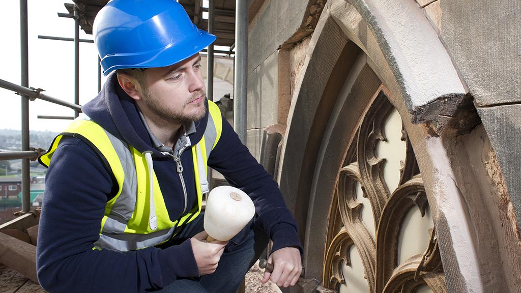 Repairing the church building