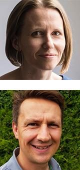 Laura Treneer and Dan Beesley