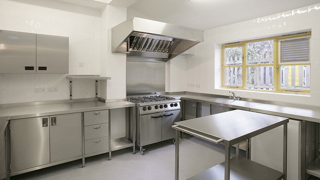 Nelson Catering church kitchen
