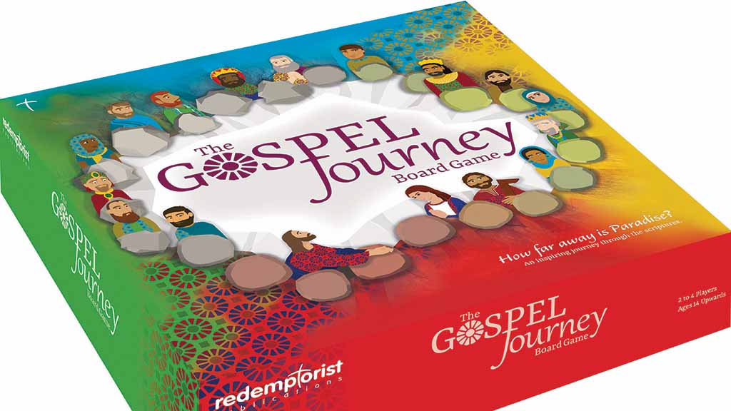 Photo of Gospel Journey board game