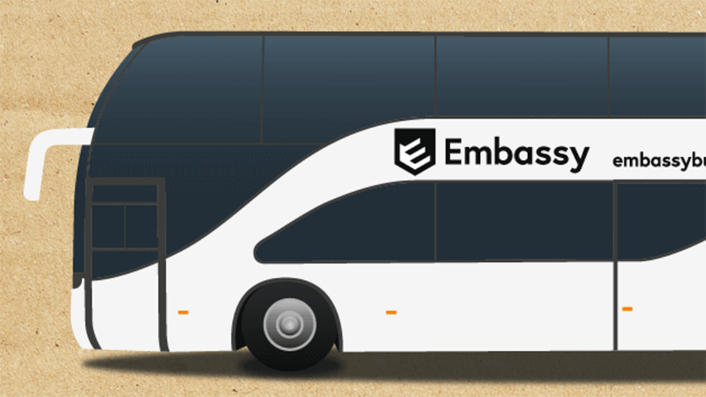 Photo of Embassy Bus