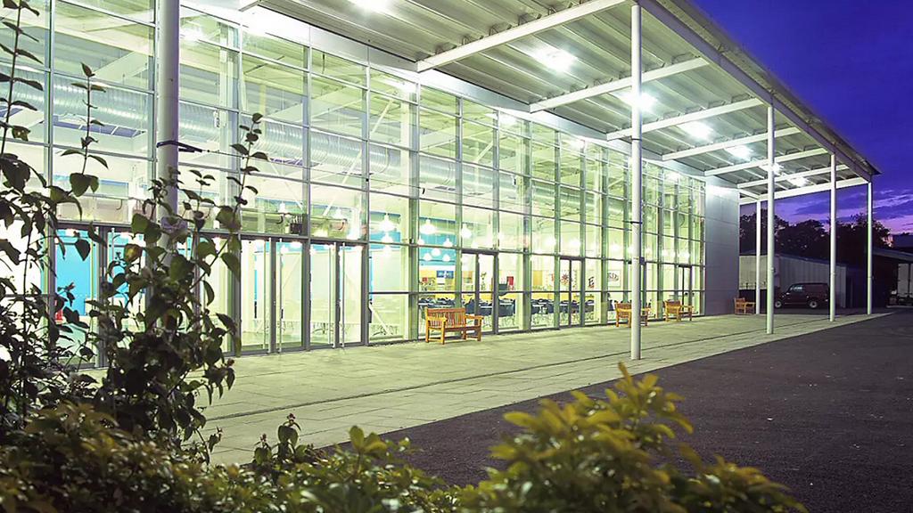 Hall 2 of Stoneleigh Park
