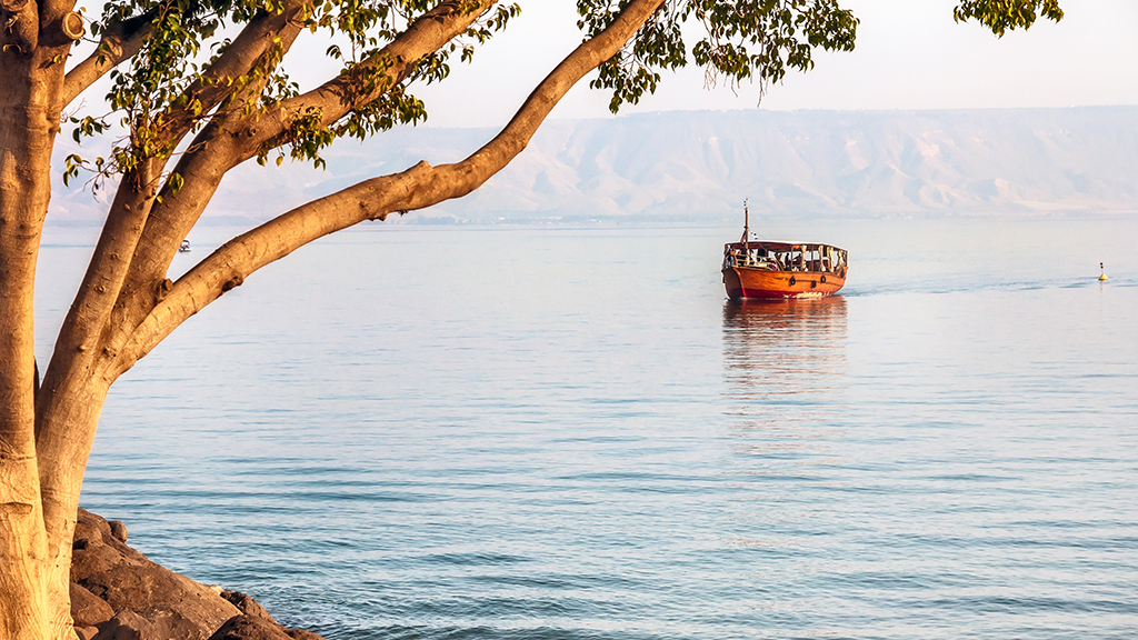 Photo of boat trip on the Sea of Galilee