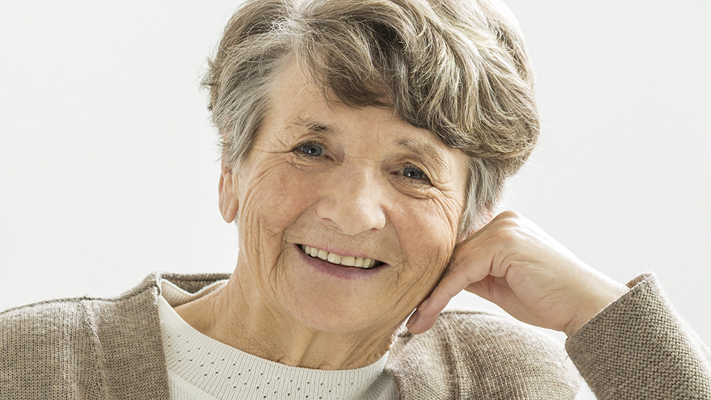 Photo of an older woman