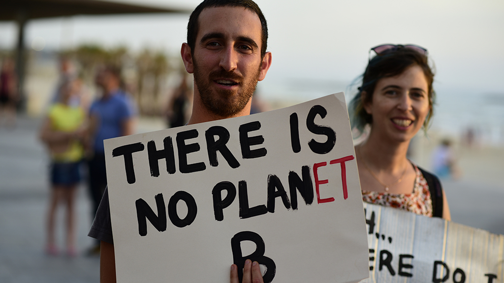 Photo of environmental campaigners