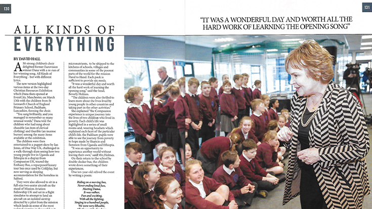 Photo of a spread from Northern Life