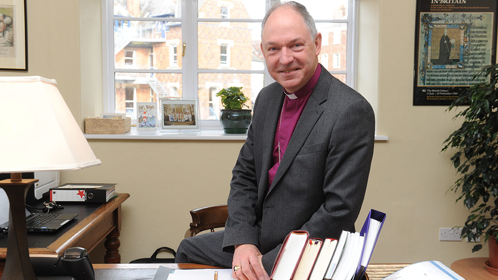 The Bishop of Exeter, the Right Revd Robert Atwell