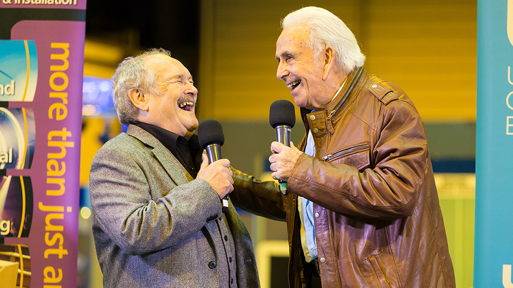 Bobby Ball and Don Maclean