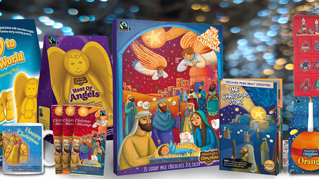 The Real Advent Calendar from Meaningful Chocolate