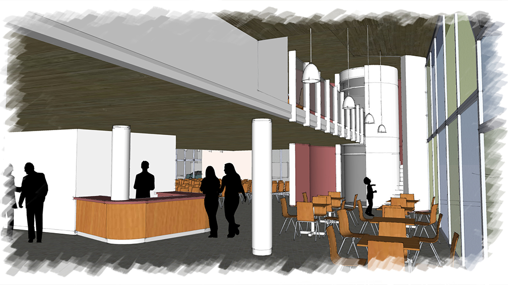 Sketch from EMJ Architects